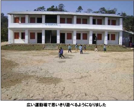 シュリー・セティ・デビ小学校完成写真2