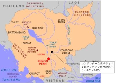 トゥールチャン小学校の場所・地図