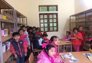 ベトナム ミンンガ村の小学校(分校)