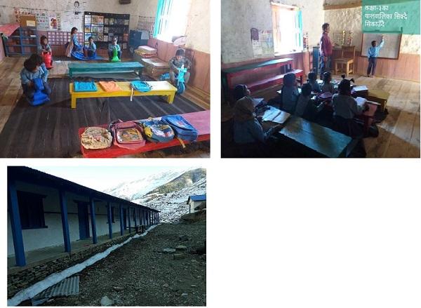 ネパール シュリー・サンダール・シェルパ小学校